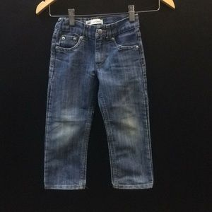 4T Levi's 514 Straight Jeans.